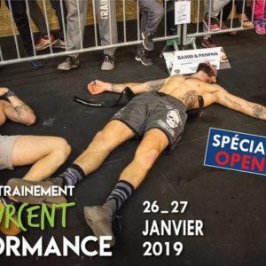 Camp d'entrainement 100 Pourcent Performance OPEN EDITION (2ème date)